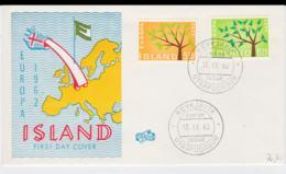 Iceland 1962 FDC Europa CEPT (G100-40) - Europa-CEPT