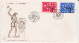 Greece  1962 FDC Europa CEPT (G100-39) - Europa-CEPT