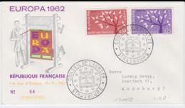 France   1962 FDC Europa CEPT (G100-39) - Europa-CEPT