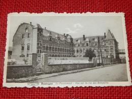 BASTOGNE  -  Le Pensionnat  - Vue Sur La Rue Des Remparts - Bastogne