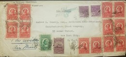 O) 1939 BRAZIL, VIA PAA, SANTOS DUMONT'S BIPLANE SC C20, BARTHOLOMEU DE GUSMAO SC C22, AUGUSTO SEVERO SC C23, 63.9 Reis, - Brazil