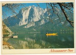 Plättenfahrt Am Altausseer See Mit Trisselwand, 1755 M - (Steiermark) - Liezen