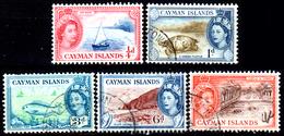 Cayman-054 - Emissione 1953-59 (+/o) LH - Senza Difetti Occulti. - Cayman (Isole)