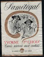 Etiquette De Vin // Yvorne, Samétégal, Cuvée Des Indécis - Etiquettes