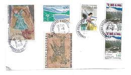 ANDORRA (franz.) 001 / Fragment Von 2019 Mit 6 Marken - Used Stamps