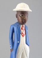 Kolon Figur, Colon Figure, Akan Tribe, Ghana - Afrikaanse Kunst