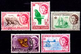 Cayman-055 - Emissione 1962 (+/o) LH - Senza Difetti Occulti. - Cayman (Isole)