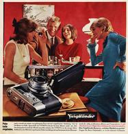 Original-Werbung/ Anzeige 1964 - VOIGTLÄNDER KAMERA - Ca. 240 X 240 Mm - Publicidad