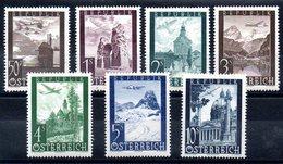 AUTRICHE  - YT PA N° 47 à 53 - Neufs ** - MNH - Cote 13,00 € - Airmail