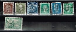 Lot Allemagne Perforés Perfgins - Stamps