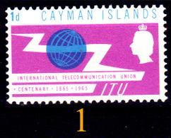 Cayman-057 - Emissione 1965-2001 (++/+/sg/o) MNH/LH/NG - UNO SOLO, A Scelta - Senza Difetti Occulti. - Cayman (Isole)