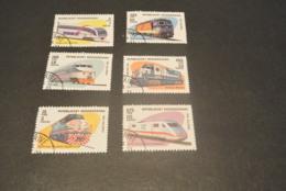 K22381 - Set Used Madagascar 1993 - Trains - Treinen