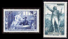 France 1936 Yvert 307 - 314 ** TB - Frankrijk