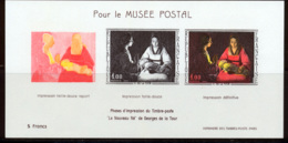 France 1966 Yvert 1479b ** TB Pour Le Musee Postal - Unused Stamps