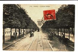 CPA - Carte Postale - FRANCE -Paris - Avenue Kléber -1908-  VM3575 - Arc De Triomphe
