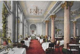 LU Lucerne . Lucerne , La Salle De Restaurant Du Palace Hotel. - LU Lucerne