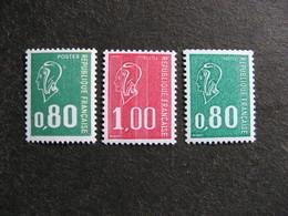 TB Série N° 1891c, 1892c Et 1893b, Gommes Tropicales, Neufs XX. - France