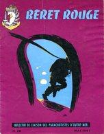 Béret Rouge N°28 Mai 1961 Guerre D'Algérie Bulletin Parachutistes Paras Para - French