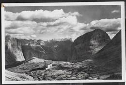 DOLOMITI - GRUPPO DEL CATINACCIO - RIFUGIO ANTERMOIA - FORMATO PICCOLO - EDIZ. HERMES 1950 VIAGGIATA 1958 - Alpinismo