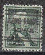 USA Precancel Vorausentwertung Preo, Locals Iowa, Long Grove 632 - Vereinigte Staaten