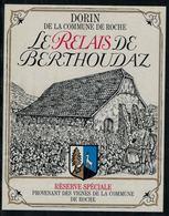 Etiquette De Vin // Dorin, Vin De La Commune De Roche - Etiquettes