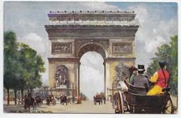 Ville De Paris - Arc De Triomphe - Tuck Oilette 7168 - France