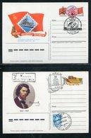 Sowjetunion / 1987 / 2 Sonderpostkarten, SSt. (18133) - 1980-91
