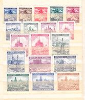 Germania-Protettorato Boemia E Moravia 1939/40 Serie Completa Nuova MLLH - Allemagne