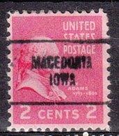 USA Precancel Vorausentwertung Preo, Locals Iowa, Macedonia 704 - Vereinigte Staaten