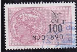 T.F. O.M.I N°4 - Revenue Stamps