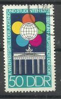 """DDR 1867 Aus Bl.38 """"Weltfestspiele Der Jugend Und Studenten In Berlin '73."""" Gestempelt.Mi 0,80 - DDR"""