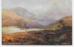 Loch Awe With Kilchurn Castle - Tuck Oilette 7166 - Scotland