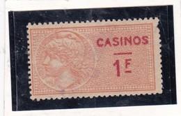T.F.Casinos N°2 - Revenue Stamps