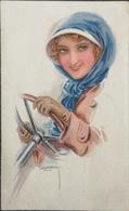 Usabal // Lady Behind The Stearingweel //used NL 1922 - Usabal