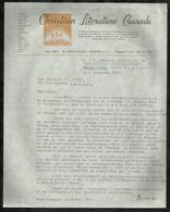 CHRISTIAN LITERATURE GRUSADE . LE : 08 DECEMBRE 1952 . - Old Paper