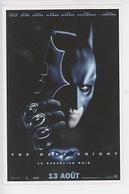 """Batman """"The Dark Knight"""" Le Chevalier Noir - Cp Vierge - Plakate Auf Karten"""
