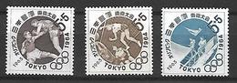 NIP002 - 1963 GIAPPONE - PREOLIMPICA TOKIO 1964 - NUOVI - 1926-89 Imperatore Hirohito (Periodo Showa)