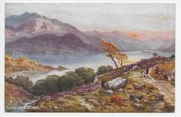 Loch Vennacher - Tuck Oilette 7167 - Scotland