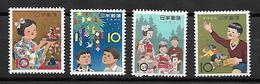 NIP005 - 1962/63 GIAPPONE - FOLKLORE - NUOVI - 1926-89 Imperatore Hirohito (Periodo Showa)