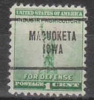 USA Precancel Vorausentwertung Preo, Locals Iowa, Maquoketa 704 - Vereinigte Staaten