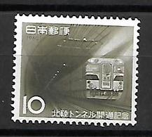 NIP008 - 1962 GIAPPONE - APERTURA DEL TUNNEL HOKURIKI - NUOVI - 1926-89 Imperatore Hirohito (Periodo Showa)