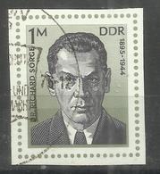 "DDR 2115 Aus Bl.44 "" Dr. Richard Sorge '76"" Gestempelt.Mi 1,80 - DDR"