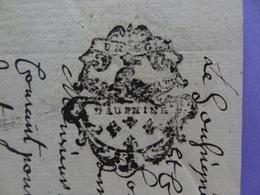 1776 Généralité De Grenoble (Isère) Papier Timbré N°216 De Un Sol Pour 1/4 De Feuille - Seals Of Generality