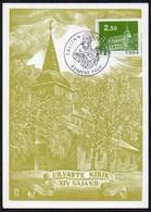 Estland 1994 MiNr. 241  Maximumkarte ;  Weihnachten- Kirche - Kirchen U. Kathedralen