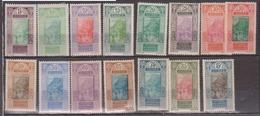 GUINEE   N°  YVERT  :  84/98  NEUF AVEC  CHARNIERES      ( Ch 1/02  ) - Guinée Française (1892-1944)