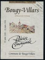 Etiquette De Vin // Bougy-Villars, Réserve Communale - Etiquettes