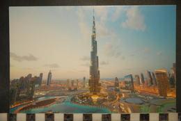 CP, DUBAI, BURJ KHALIFA BY NIGHT, PANORAMA - Dubai
