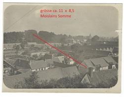 (80) Photo Militaire (carte)  Moislains  WWI 1.WK (1914-1918)  Photo 1-3  Allemande Photo Militaire - Moislains
