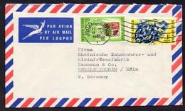 Südafrika 1960 MiNr. 269, 270  Auf Brief/ Letter In Die BRD - Südafrika (...-1961)