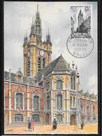 FDC 1956 - 1051 Beffroi De Douai - FDC